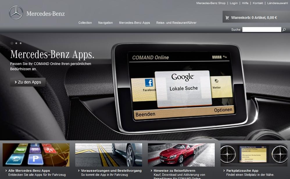 Mercedes Benz Apps