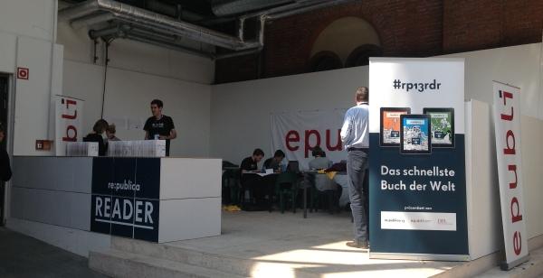 Der Newsroom der re:publica-Reader-Redaktion