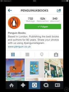 penguin auf instagram