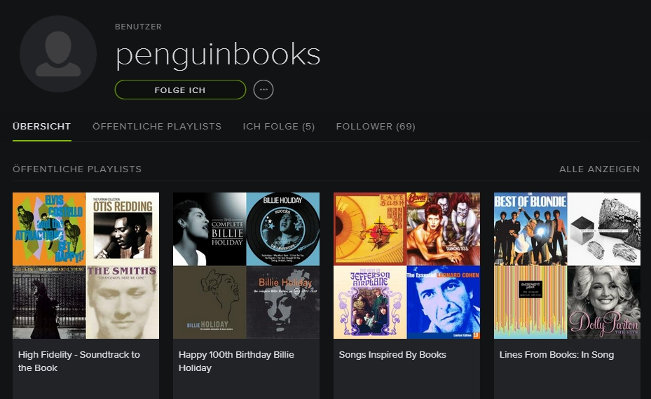 penguinbooks auf spotify
